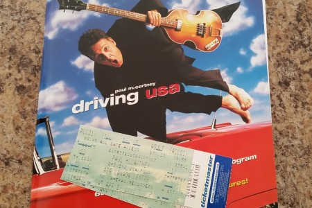 Driving Rain tour in 2002 - Paul McCartney was on fire that night